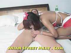 Red Thai Ass Fucking Bimbo Nurse