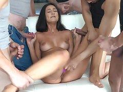 Eliza Ibarra Blowbang Crazy Porn Video