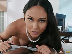 Ariana Marie craving for hard penis deep dominant will not hear of frowardness and cunt