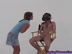 Sexy Spring Thomas gets fucked by a stiff penis to the fullest she moans