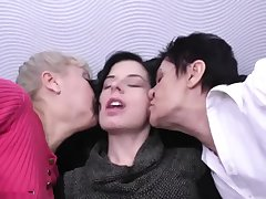Granny mature and young gentleman lesbians