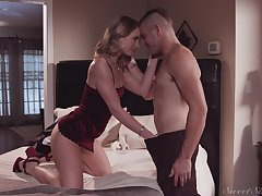 Cheating girlfriend Daisy Stone fucked by say no to BF's best friend