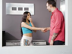 Katya Rodriguez gives dramatize expunge bes Nuru massage with an increment of takes a cock