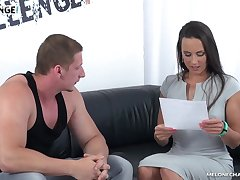 Steamy couch fuck with really versatile Czech slut Mea Melone