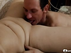 Aunt receives blowjobs pleasures before she's pounded