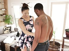 Japanese down in the mouth rub-down with happy ending by stunning masseuse Nyomi Star