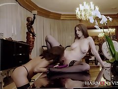 Henessy And Stella Cox - Nymphomaniac Lesbians