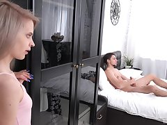 Shortly Herde Wisky spies a forbidden large cock, she is instantly horny