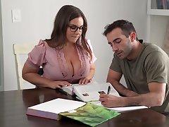 Its Hard To Stay Set one's sights on When You Got A Busty Teacher - Natasha Nice