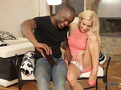 BLACK4K. Hot girl needs big black penis to penetrate