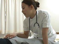 Amateur bonking on the hospital wainscotting regarding cock hot to trot Misa Mano