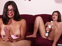 Cum Covered Babes Cool-headed Want MORE! HJ Compilation