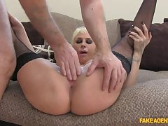 Sexy Spanish Stunner Shows She Knows How To Properly Fuck Agent