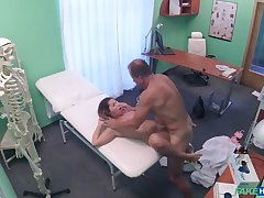 Anyhow Orgasms Pussy Juice on Desk